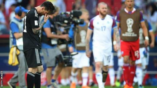 2018 World Cup: Argentina Are A 'Disgrace' - Diego Maradona