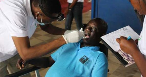 Two NGOs organise health screening exercise for a church