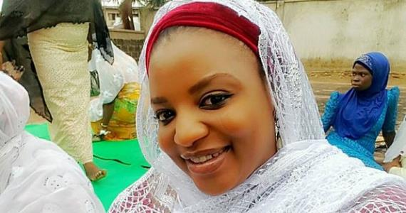 Actress, Funke Adesiyan Jubilating as Ramadan Finally Ends