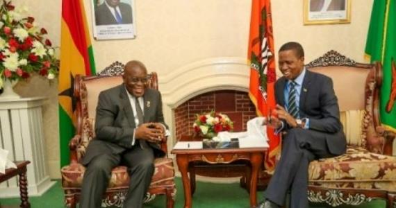 Zambia to strengthen ties with Ghana