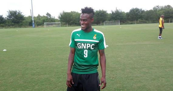 NER midfielder Gershon Koffie joins Black Stars for the first time