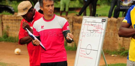 Aduana Stars Coach Kenichi Yatsuhashi Delighted With Performance Of His Team In AS Vita Victory