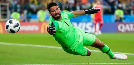 Alisson: Liverpool Make Brazilian World's Most Expensive Keeper