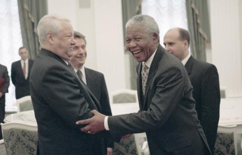 From Author's Archive, Dedicated To Mandela's Centenary: Rus...