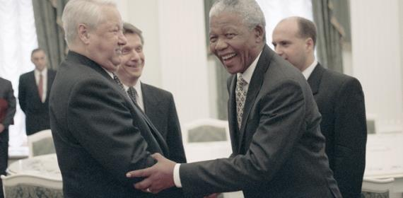 From Author's Archive, Dedicated To Mandela's Centenary: Russia Discovers Africa