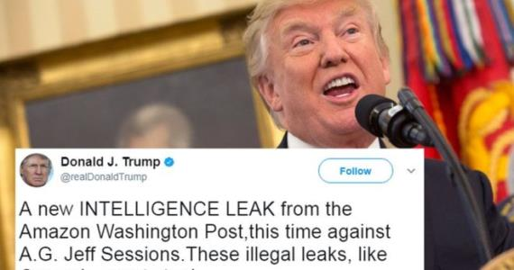 Donald Trump attacks 'illegal' report on Sessions Russian meeting