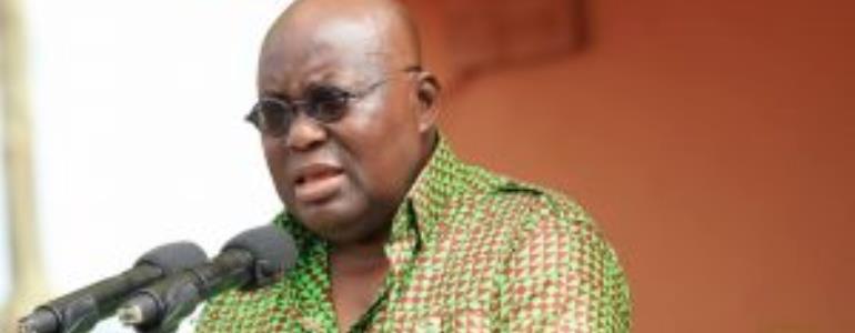 Nana Addo Tells Clergy To Pray For The Presidency