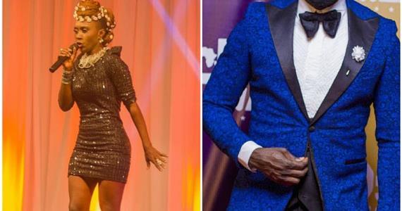 NanaYaa's 'Ghana Jollof' Slang Was AY's Comedy Topic At Golden Movie Awards 2017