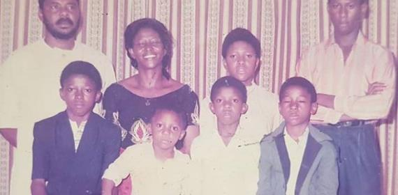 Actor, Pete Edochie now Enjoying his Six Children at Old Age