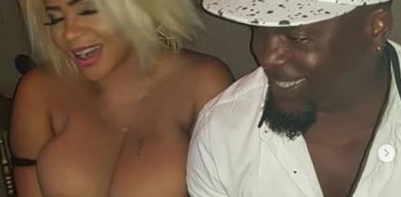 Actress, Cossy Orjiakor goes on B00bs Flaunting Spree