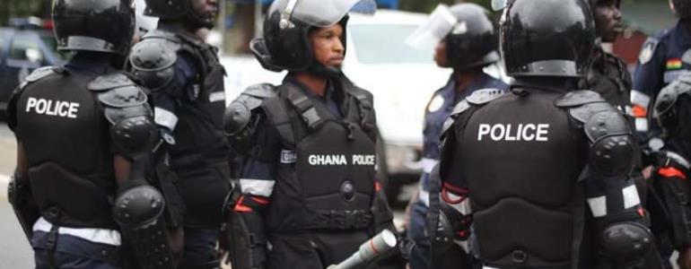 Police Fire Warning Shots At Bonya-Koforidua As Robbers Flee