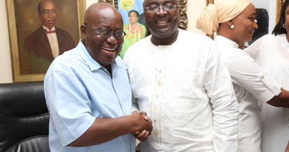 """Bawumia Works With """"Commendable Brilliance"""" – Akufo-Addo"""