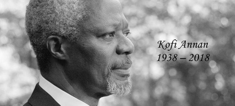 Former UN Secretary General Kofi Annan Is Dead