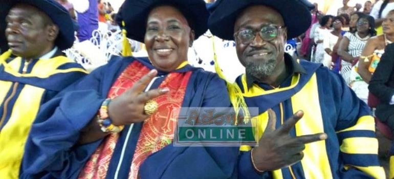 Countryman Songo Gets Doctorate Degree