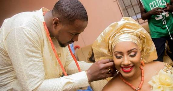 Actor, Mofe Duncan Spoils Wife as They Celebrate 2nd Wedding Anniversary