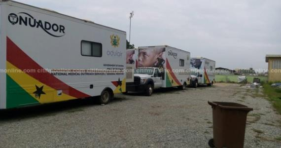 Medical outreach vans left to rot years after commissioning [