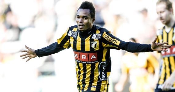 Striker Nasiru Mohammed on target to secure draw for Hacken in Sweden
