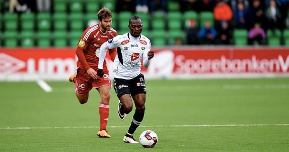 Gilbert Koomson scores and provides assist as Sogndal win in Norwegian top-flight