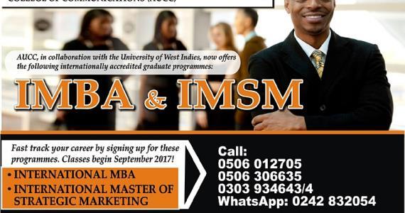 AUCC Launches International Master's Programmes