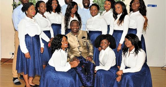 Daniel Akakpo Releases His New Album 'heaven Rules' At The 'next Level' Concert 2017 -London