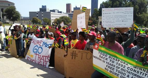 In Wake of 'Massacre' Togolese in Minnesota Demand End to 50 Years Dynasty Rule in Togo