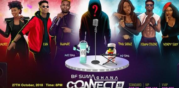 Olamide, Kuami Eugene, MzVee, Others For BF Suma Concert