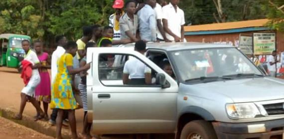 NPP Accuses NDC For Bussing Minors For Limited Voters Registration Exercise