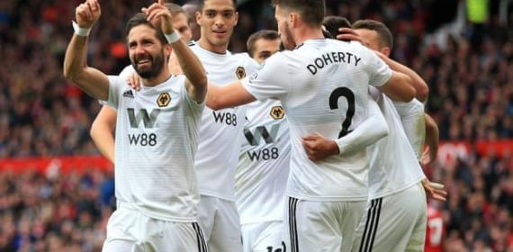 Man Utd Held By Wolves To Slip Eight Points Behind Leaders