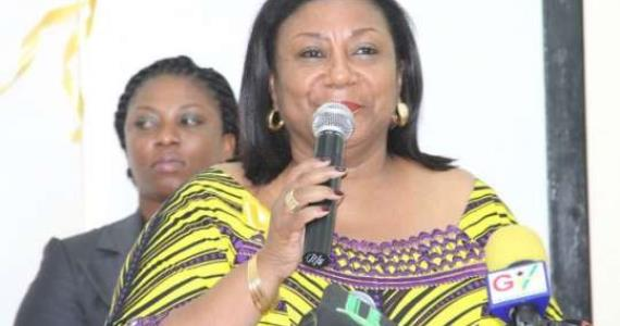 First Lady Moves To Improve Cancer Treatment In Ghana