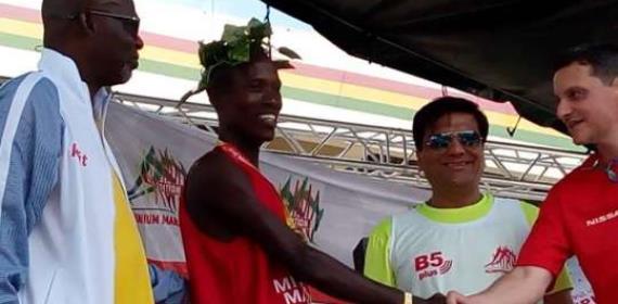 Arthur And Azure Win 2018 Big Millennium Marathon