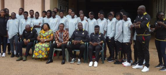 Black Queens Pays Courtesy Call On B/A Regional Minister