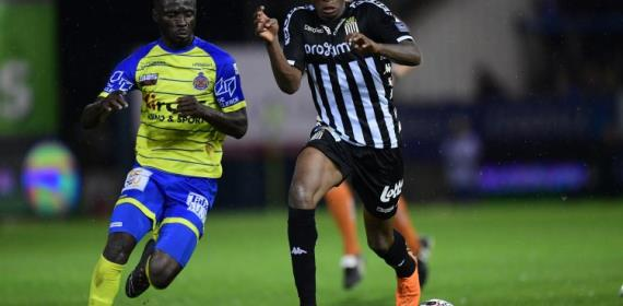 Nana Ampomah Admits Waasland-Beveren Were Poor In The First Half Against Charleroi