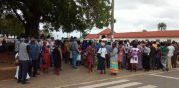 First Allied Savings Customers Petition Asantehene Otumfuo