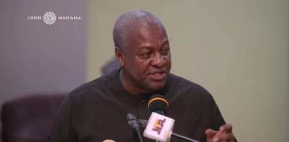 Mahama Encourages Christians In These Hard Times
