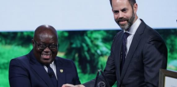 Akufo-Addo Gets 2018 Outstanding Leader's Award