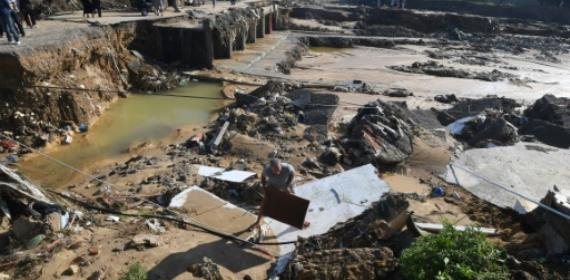 Four killed in torrential Tunisia rains