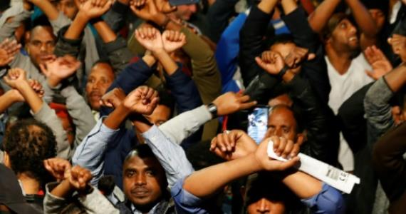 Thousands rally in Israel against expulsion of migrants