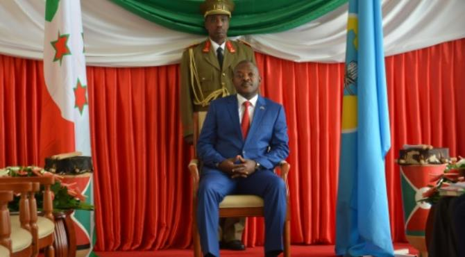 Burundi President Pierre Nkurunziza has been in power since 2005.  By Landry Nshimiye (AFP/File)