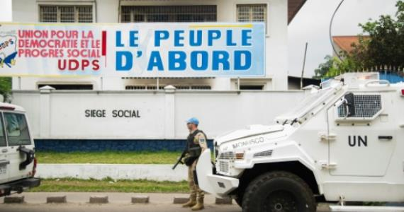 Senior opposition figure barred from leaving DR Congo: party