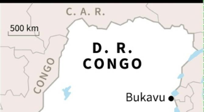 DRCongo ethnic clashes.  By AFP (AFP)