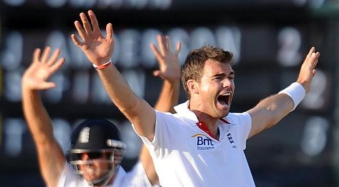 James Anderson says the English team will have to get past some outstanding South African batsmen starting Thursday.  By Lakruwan Wanniarachchi (AFP/File)