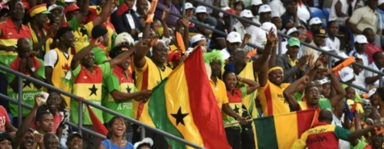 Ghana beat Nigeria 4-1 in the West African Football Union Cup of Nations.  By ISSOUF SANOGO (AFP/File)