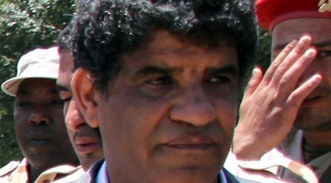 Moamer Kadhafi's former right-hand man has been long feared in Libya.  By  (AFP/File)