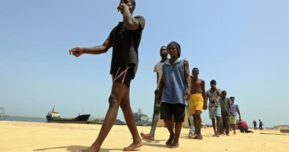 278 Europe-bound migrants rescued off  Libya