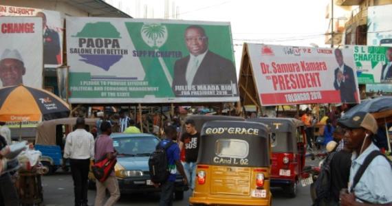 Sierra Leone court halts preparations for presidential run-of