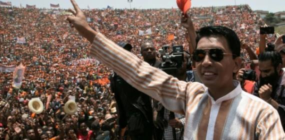 Top Madagascar presidential hopeful alleges vote 'manipulatio