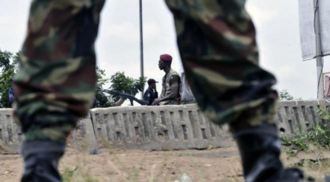 Six people were killed in an overnight attack on the village of Sakre.  By Sia Kambou (AFP/File)