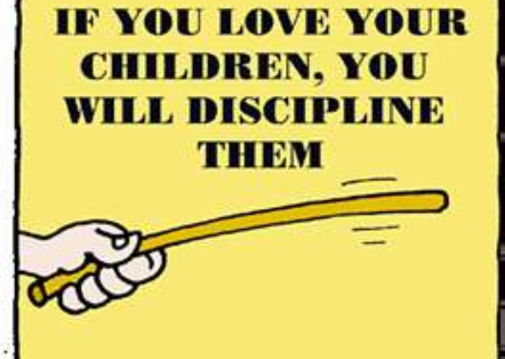 spare the rod and spoil the child explanation