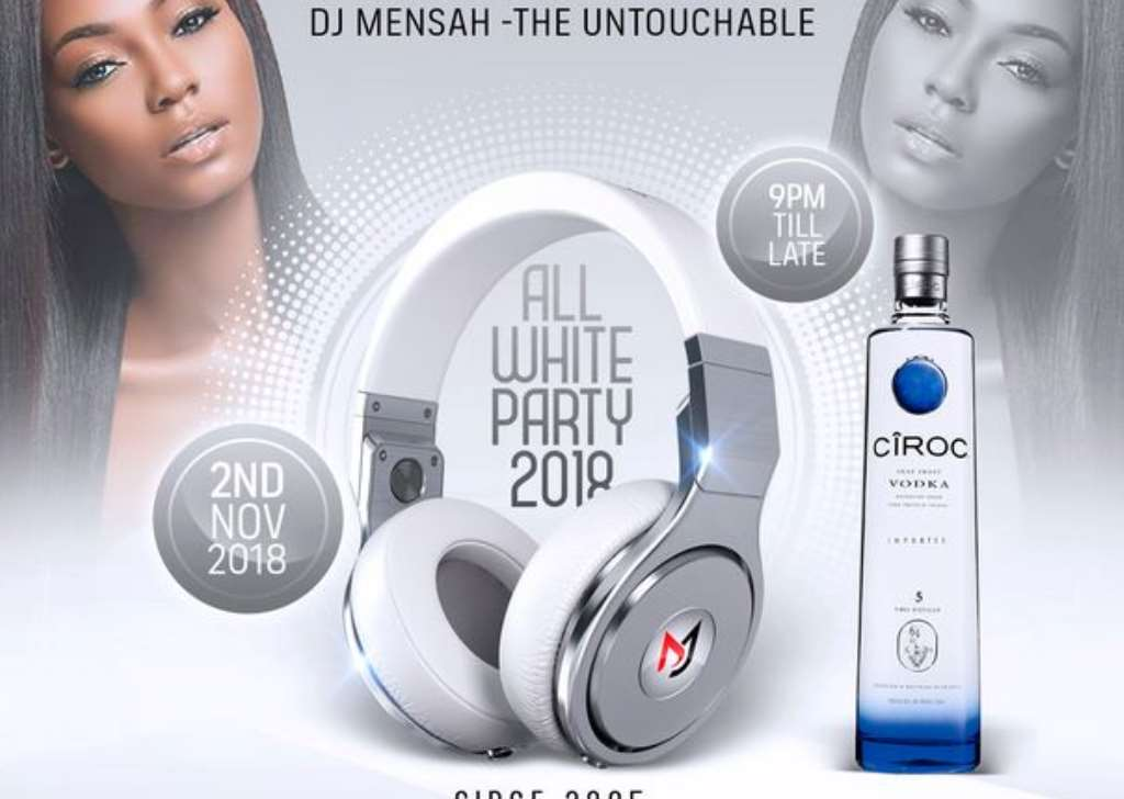 Image result for Dj Mensah all white party