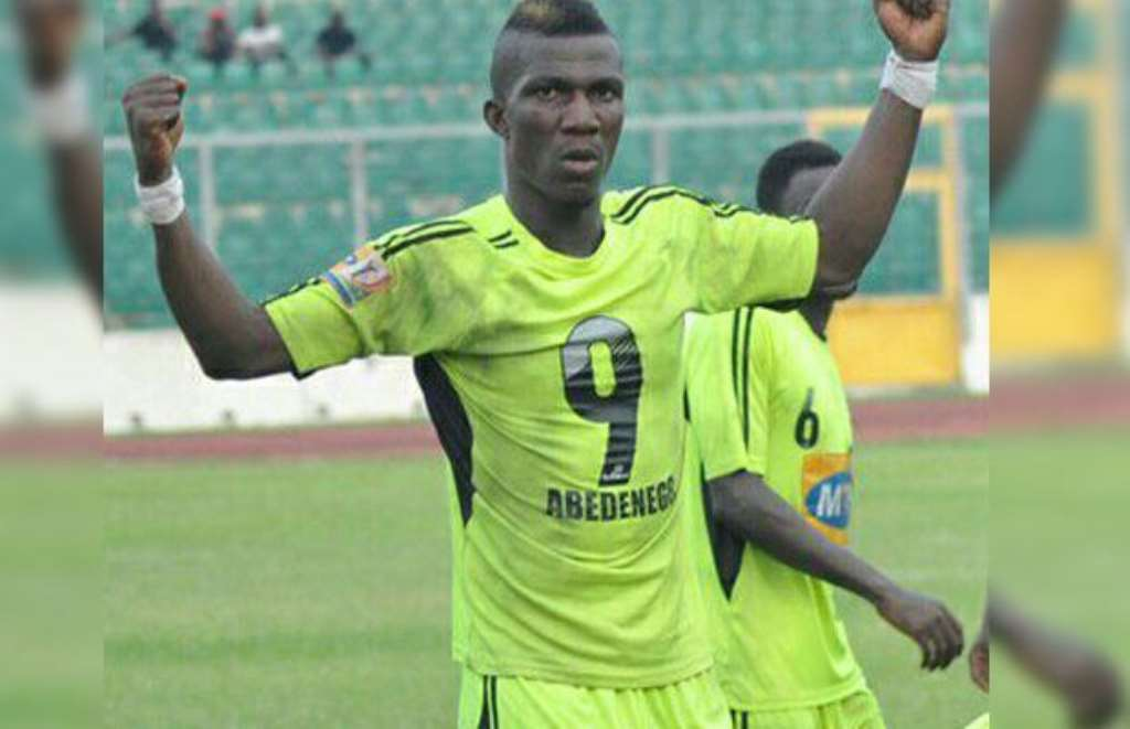 Abednego Tetteh Express Interest To Play For Hearts